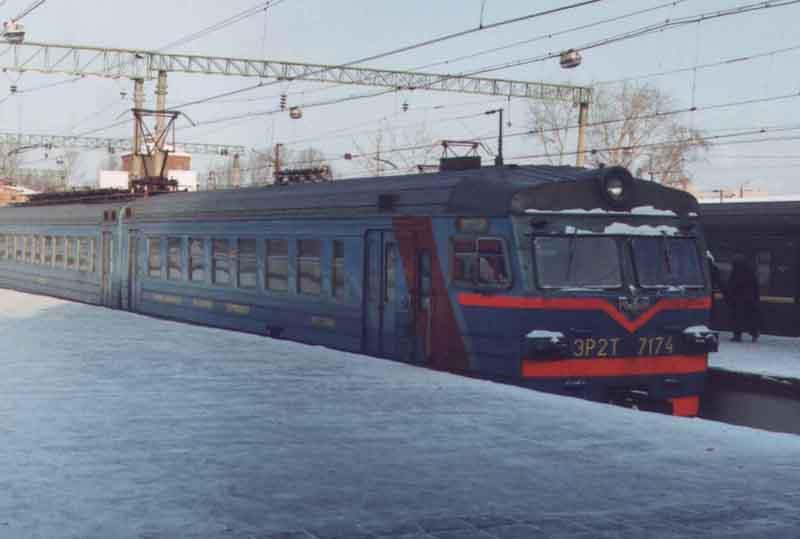 Предыдущая картинка (Электропоезда ЭР2р N 7032 и ЭР2т N 7178).  Следующая картинка (Электропоезд ЭР9п N 76).